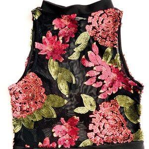 Charlotte Russe sheer dress